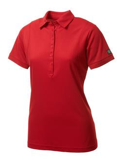 SIGNAL RED OGIO® JEWEL LADIES' POLO. LOG101