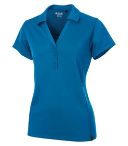 BOLT BLUE OGIO® FRAMEWORK LADIES' POLO. LOG125