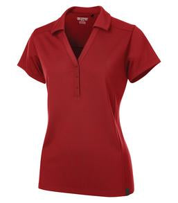 SIGNAL RED OGIO® FRAMEWORK LADIES' POLO. LOG125