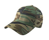CAMO NEW ERA® STRUCTURED STRETCH COTTON CAP. NE1000