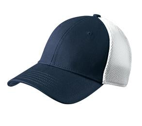 DEEP NAVY / WHITE NEW ERA® STRETCH MESH CAP. NE1020