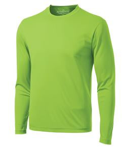 LIME SHOCK ATC PRO TEAM LONG SLEEVE TEE. S350LS