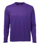 PURPLE ATC PRO TEAM LONG SLEEVE TEE. S350LS