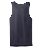 WHITE / TRUE NAVY ATC PRO MESH REVERSIBLE TANK TOP. S3524