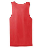 TRUE RED / WHITE ATC PRO MESH REVERSIBLE TANK TOP. S3524