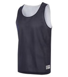 TRUE NAVY / WHITE ATC PRO MESH REVERSIBLE TANK TOP. S3524