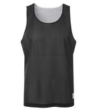 BLACK / WHITE ATC PRO MESH REVERSIBLE TANK TOP. S3524