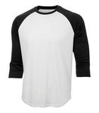 WHITE / BLACK ATC PRO TEAM BASEBALL JERSEY. S3526