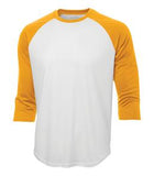 WHITE / GOLD ATC PRO TEAM BASEBALL JERSEY. S3526