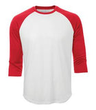 WHITE / TRUE RED ATC PRO TEAM BASEBALL JERSEY. S3526