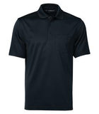 DARK NAVY COAL HARBOUR® SNAG PROOF POWER POCKET SPORT SHIRT. S4005P