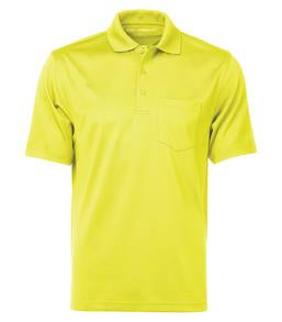 SAFETY YELLOW COAL HARBOUR® SNAG PROOF POWER POCKET SPORT SHIRT. S4005P