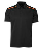 BLACK / NEON ORANGE COAL HARBOUR® EVERYDAY COLOUR BLOCK SPORT SHIRT. S4008