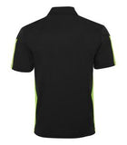 BLACK / LIME COAL HARBOUR® EVERYDAY COLOUR SLICE SPORT SHIRT. S4024