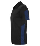 BLACK / ROYAL COAL HARBOUR® EVERYDAY COLOUR SLICE SPORT SHIRT. S4024