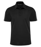 BLACK / STEEL GREY COAL HARBOUR® EVERYDAY COLOUR SLICE SPORT SHIRT. S4024