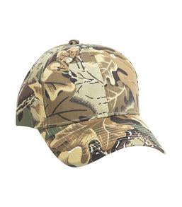 CAMO LEAF ATC MID PROFILE TWILL YOUTH CAP. Y130