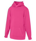 EXTREME PINK ATC GAME DAY FLEECE HOODED YOUTH SWEATSHIRT. Y2005