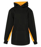 BLACK / GOLD ATC GAME DAY FLEECE COLOUR BLOCK HOODED YOUTH SWEATSHIRT. Y2011