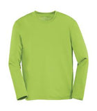 LIME SHOCK ATC PRO TEAM LONG SLEEVE YOUTH TEE. Y350LS