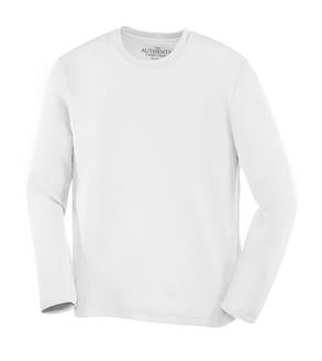 WHITE ATC PRO TEAM LONG SLEEVE YOUTH TEE. Y350LS