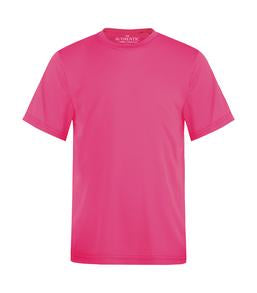 EXTREME PINK ATC PRO TEAM YOUTH TEE. Y350
