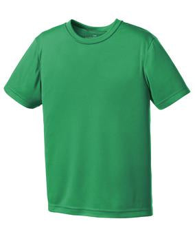 KELLY GREEN ATC PRO TEAM YOUTH TEE. Y350