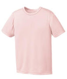 LIGHT PINK ATC PRO TEAM YOUTH TEE. Y350