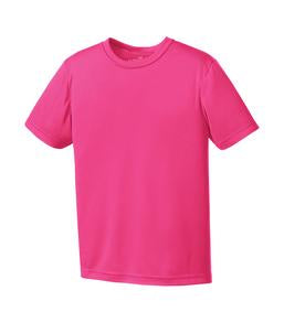 WILD RASPBERRY ATC PRO TEAM YOUTH TEE. Y350