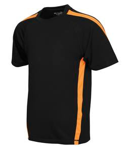 BLACK / EXTREME ORANGE ATC PRO TEAM HOME & AWAY YOUTH JERSEY. Y3519