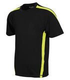 BLACK / EXTREME YELLOW ATC PRO TEAM HOME & AWAY YOUTH JERSEY. Y3519