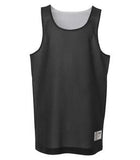 BLACK / WHITE ATC PRO MESH REVERSIBLE YOUTH TANK TOP. Y3524