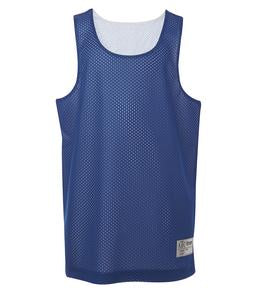 TRUE ROYAL / WHITE ATC PRO MESH REVERSIBLE YOUTH TANK TOP. Y3524