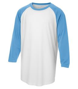 WHITE / CAROLINA BLUE ATC PRO TEAM BASEBALL YOUTH JERSEY. Y3526