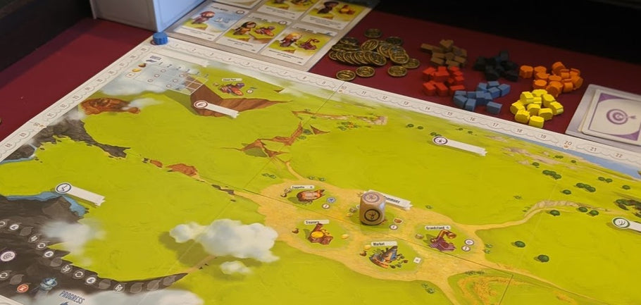 Charterstone; An Enjoyable Legacy Experience