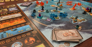 Cyclades, A Game of Bidding and Battle