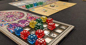 Sagrada; A Beautiful Game Yet Not Without Flaws