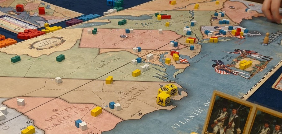 1775: Rebellion; Simple Rules and Tactical Depth