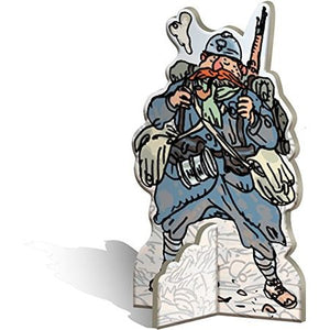 The Grizzled At Your Orders! Standee