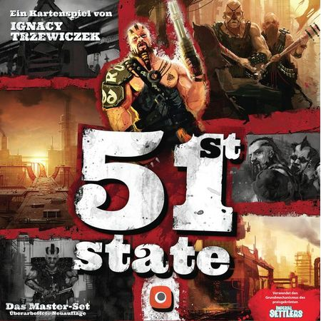 51st State Master Set German Edition