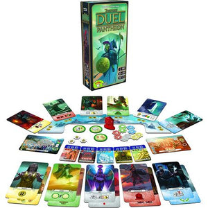 7 Wonders Duel Pantheon Components