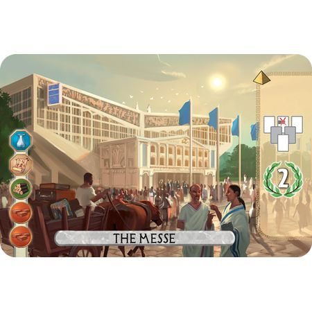 7 Wonders Duel The Messe Essen Promo Card