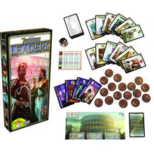 7 Wonders Leaders Components