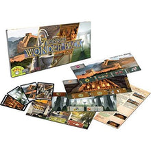7 Wonders Wonder Pack Components