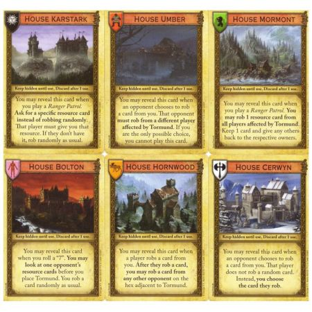 A Game of Thrones Catan – Brotherhood of the Watch Minor Houses of the North Promo