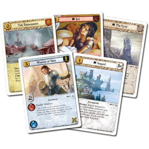 A Game of Thrones The Card Game Components