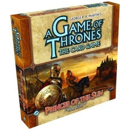 A Game of Thrones The Card Game – Princes of the Sun