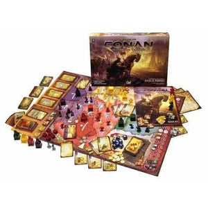 Age of Conan The Strategy Board Game Components