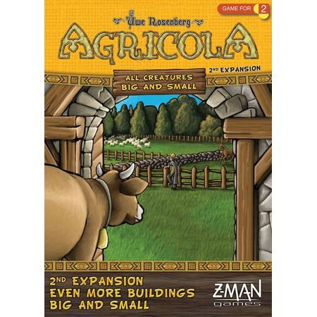 Agricola All Creatures Big and Small – Even More Buildings Big and Small