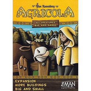 Agricola All Creatures Big and Small – More Buildings Big and Small